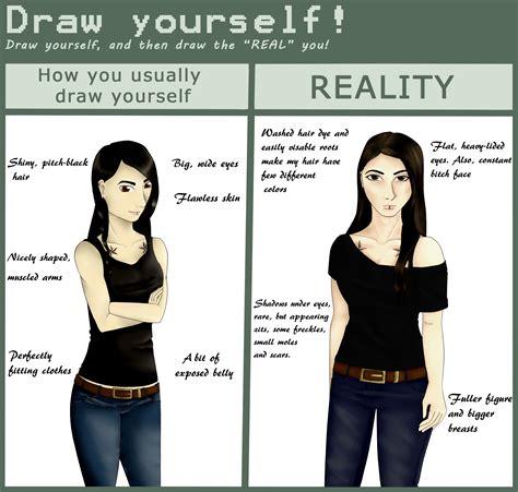 draw yourself draw yourself meme by wirata chan on deviantart