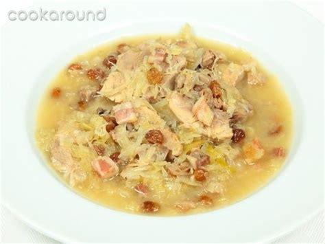 cucina ucraina ricette zuppa di crauti recipe zuppe e minestre soups and