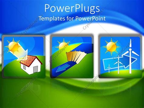 powerpoint templates for renewable energy powerpoint template tree tiles showing the flow of