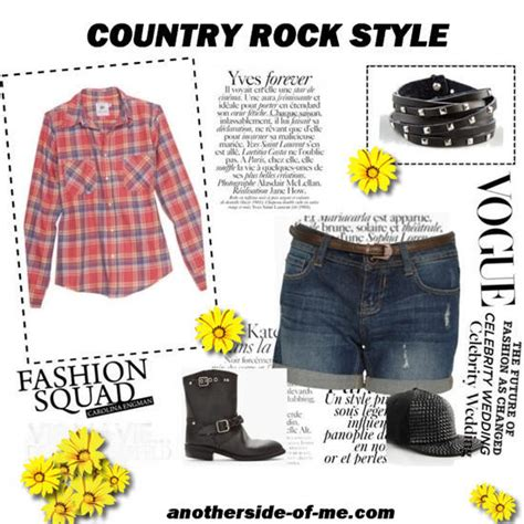 country rock style ootd rock chic or country anotherside of me