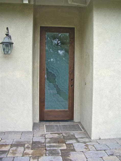 Entry Glass Door Entry Door Glass Sans Soucie Glass