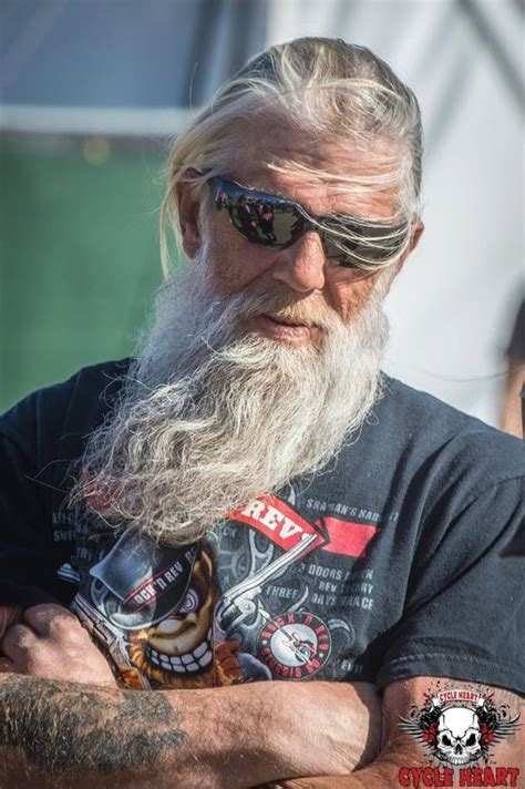 long hairstyles for a biker man 111 best mc bikers images on pinterest