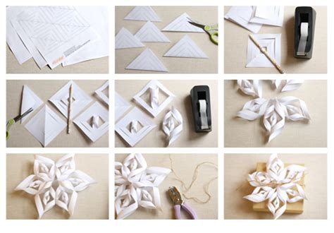 Make A Snowflake From Paper - how to create a paper snowflake paper snowflake diy