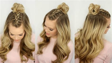 plait at back of head hairstyle black braid styles with knot on top of the head