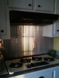 metal roofing backsplash corrugated metal backsplash home