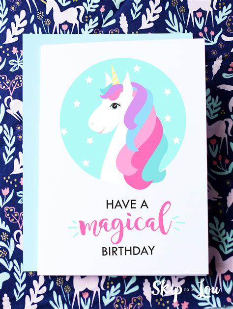 Birthday Card Printable