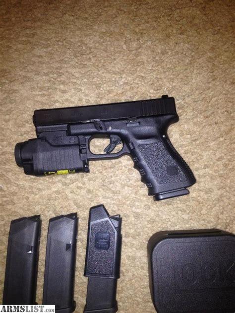 Glock 19 Light by Armslist For Sale Trade Glock 19 With Glock Light Lazer