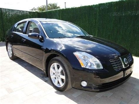 nissan maxima skyview find used 05 maxima sl only 57k miles 3 5l clean florida
