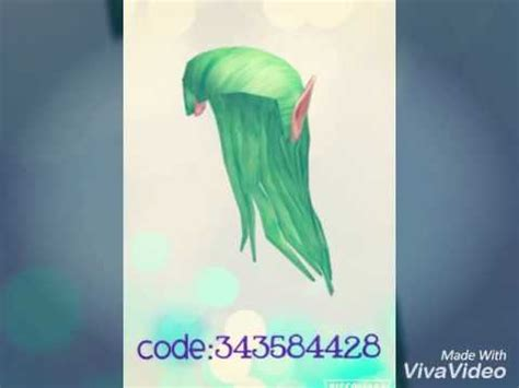 roblox code for long hair roblox rhs hair codes girls edition awesome panda