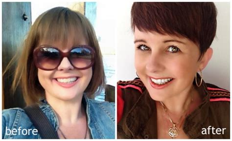 short hair before and after pixie haircuts before and after hairstylegalleries com