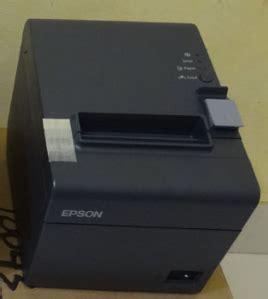 Printer Epson Untuk Struk jual printer epson tm t82 cocok untuk kasir parkiran