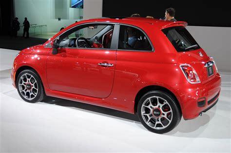 2012 fiat 500 minicar fashionable functional fuel
