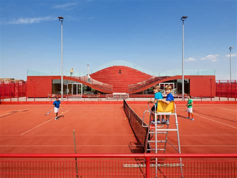 designboom amsterdam mvrdv completes the couch for amsterdam tennis club