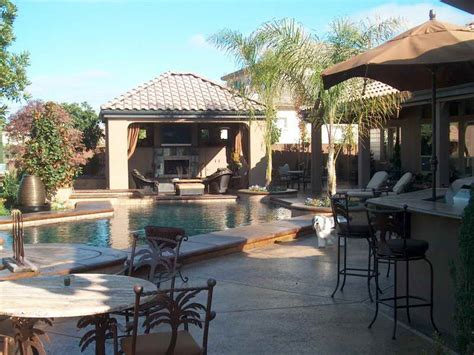 outdoor living spaces with pool outdoor furniture decorating outdoor living spaces