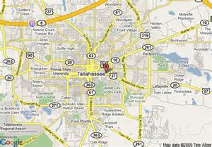 map of comfort suites tallahassee tallahassee