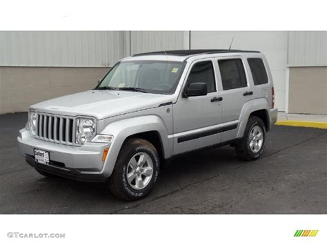 jeep liberty silver bright silver metallic 2011 jeep liberty sport 4x4