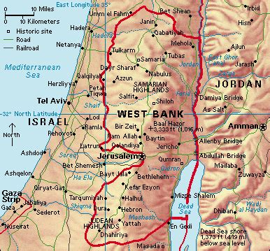is west bank part of israel west bank howstuffworks