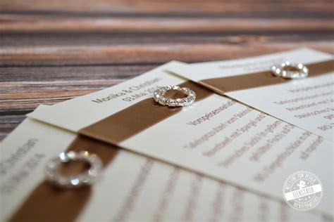 Hochzeitseinladung Schlicht by Monika Christian Feenstaub At