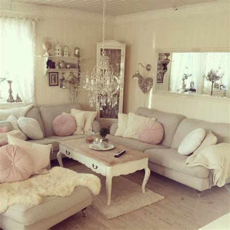 shabby chic living rooms 37 enchanted shabby chic living room designs digsdigs