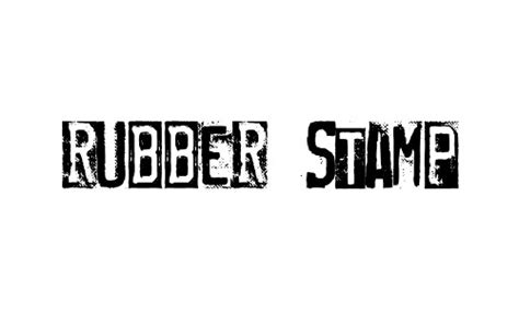 free font rubber st stylize your designs with these free sted fonts naldz