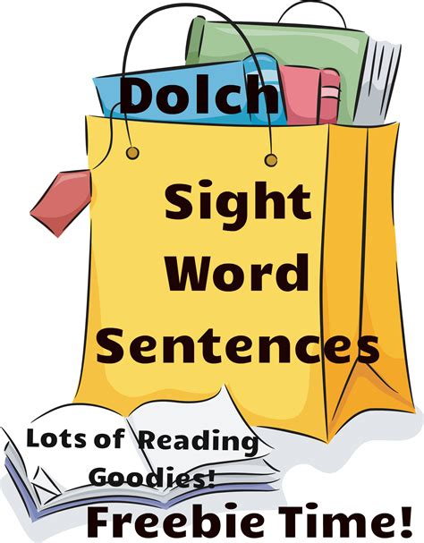 word cards for sentences dolch sight words worksheets free printable reading