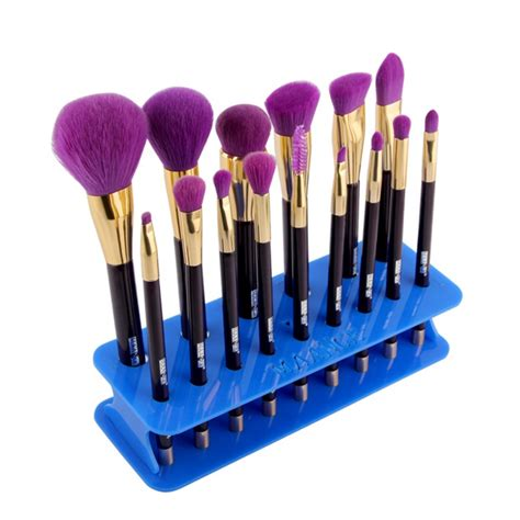 Acrylic Brush Akrilik Tempat Make Up makeup stand cosmetic organizer acrylic make up brush holder shelf tool 15 ebay