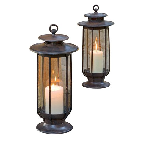 backyard lanterns fresh outdoor candle lanterns b q 11350