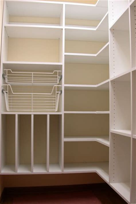 Building Pantry Shelves Design by Kitchen Pantry Makeover Diy Installing Wood Wrap Around