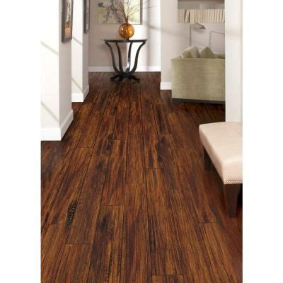 Trafficmaster Embossed Alameda Hickory  Mm Thick