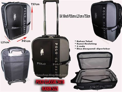 Ransel Trolly Polo Classic Beli 1 Free 1 tas trolley polo images