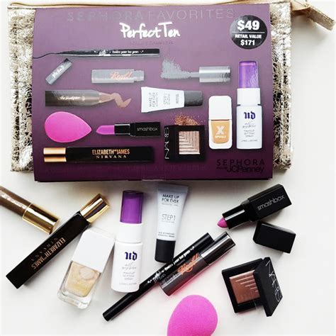 Makeup Set Sephora makeup deals sephora favourites value sets shopandbox