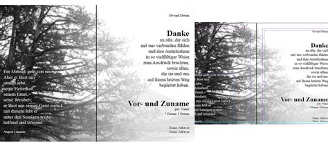 Word Vorlage Trauer Trauerkarte Adobe Indesign F 252 R Indesign Cs4 Psd Tutorials De