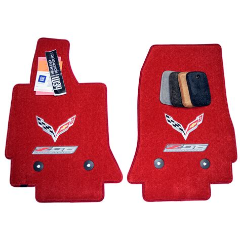 2015 chevy corvette floor mats chevrolet corvette c7 z06 floor mats adrenaline red