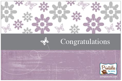 printable card congratulations free printable card