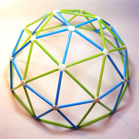 How To Make A Dome Shape Out Of Paper - geodesic dome kit meshcloud 3d printed designer