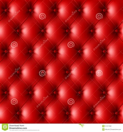 red leather upholstery red leather upholstery pattern stock vector image 41417292