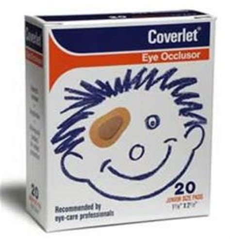 coverlet eye occlusor coverlet eye occlusor junior size bandages 20