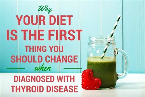 Does Detox Affect Thyroid by Change Your Diet When Diagnosed With Thyroid Disease