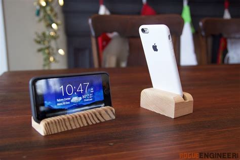 diy phone stand for desk phone stand 187 rogue engineer