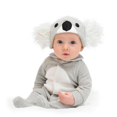 lil creatures cute koala baby jumpsuit romper onesie