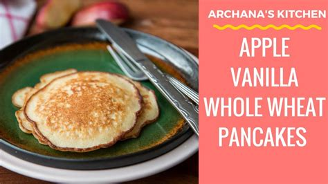 cara membuat pancake breakfast apple vanilla pancake continental breakfast recipes by