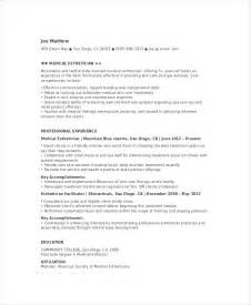 Resume Sles For Estheticians by Esthetician Resume Help
