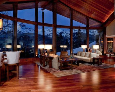 image result for mountain houses interior design