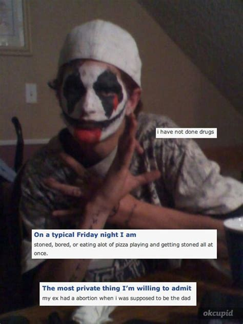 Ok Cupid Meme - the juggalos of okcupid full blown meme potential pics bodybuilding com forums