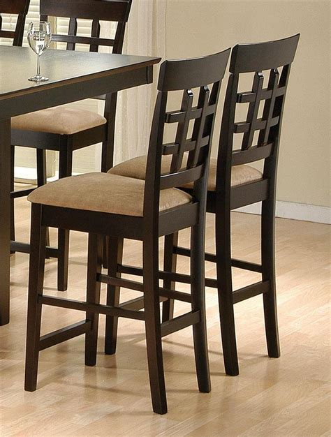 square counter height table with lazy susan chairs style