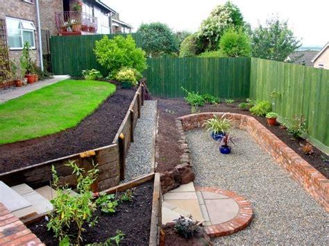 steep backyard an idea for my steep back yard garden terraced