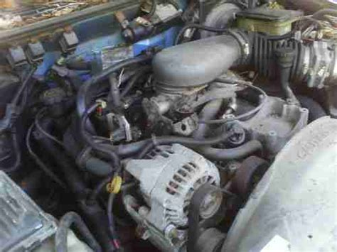 how does a cars engine work 1996 gmc savana 2500 user handbook sell used 1996 gmc sonoma sl standard cab pickup 2 door 4 3l new engine only 230 miles in