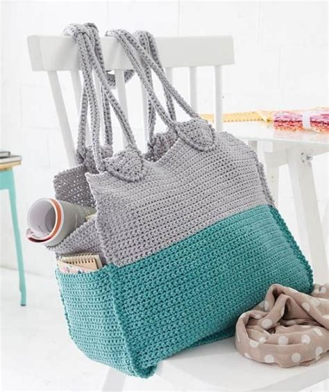 free tote bag pattern pinterest cool crochet tote free pattern ƭɽღ https www