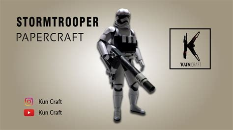 Papercraft Stormtrooper - papercraft wars papercraft episode 7 stormtrooper
