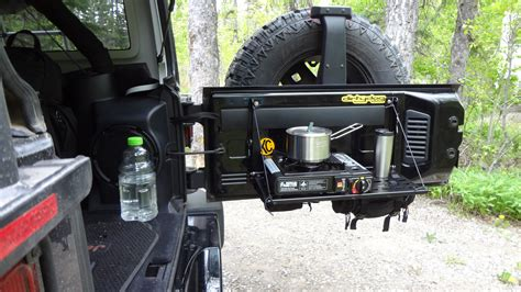 jeep tailgate storage image gallery tailgate